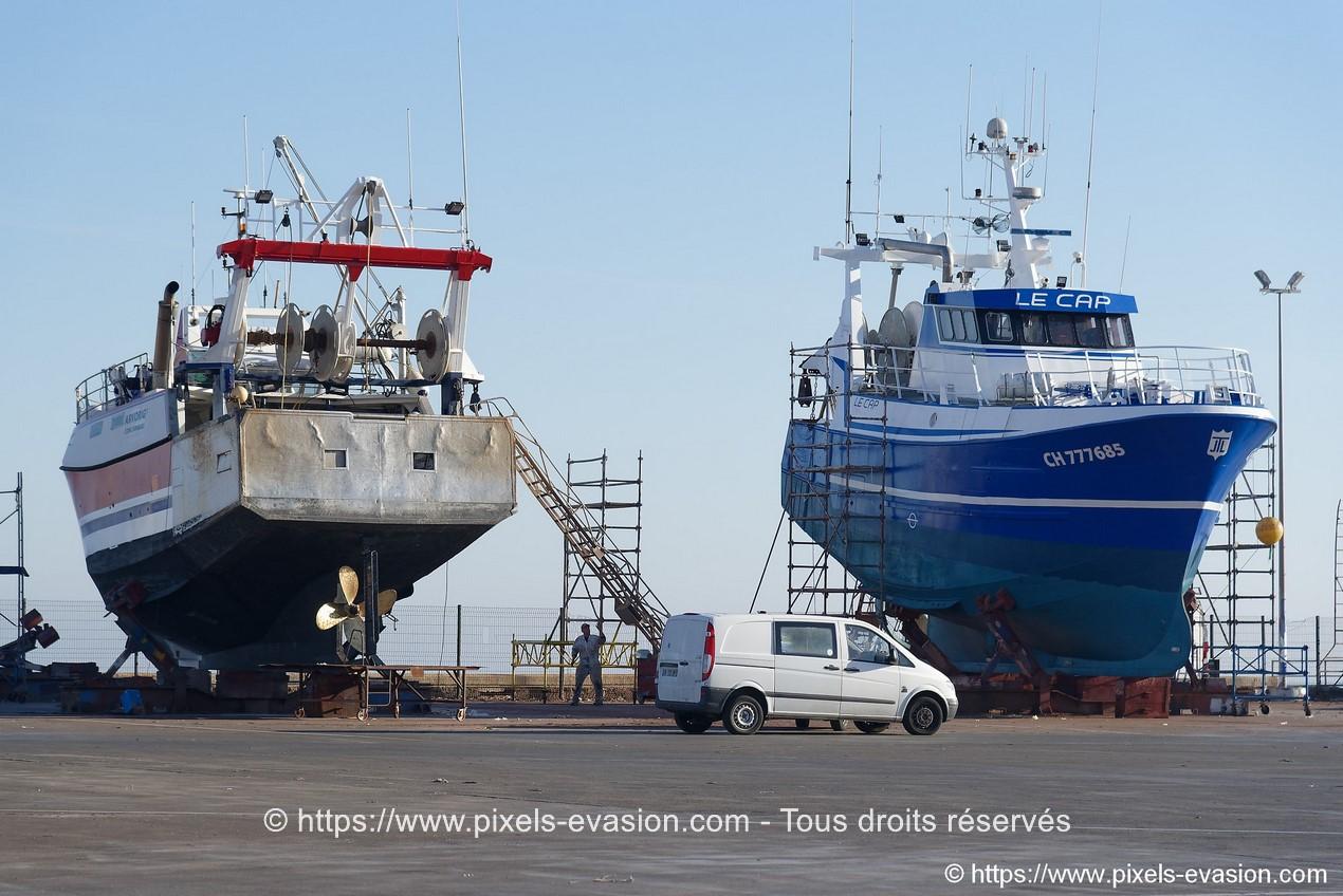 Arvorig I (CC 922586) et Le Cap (CH 777685)
