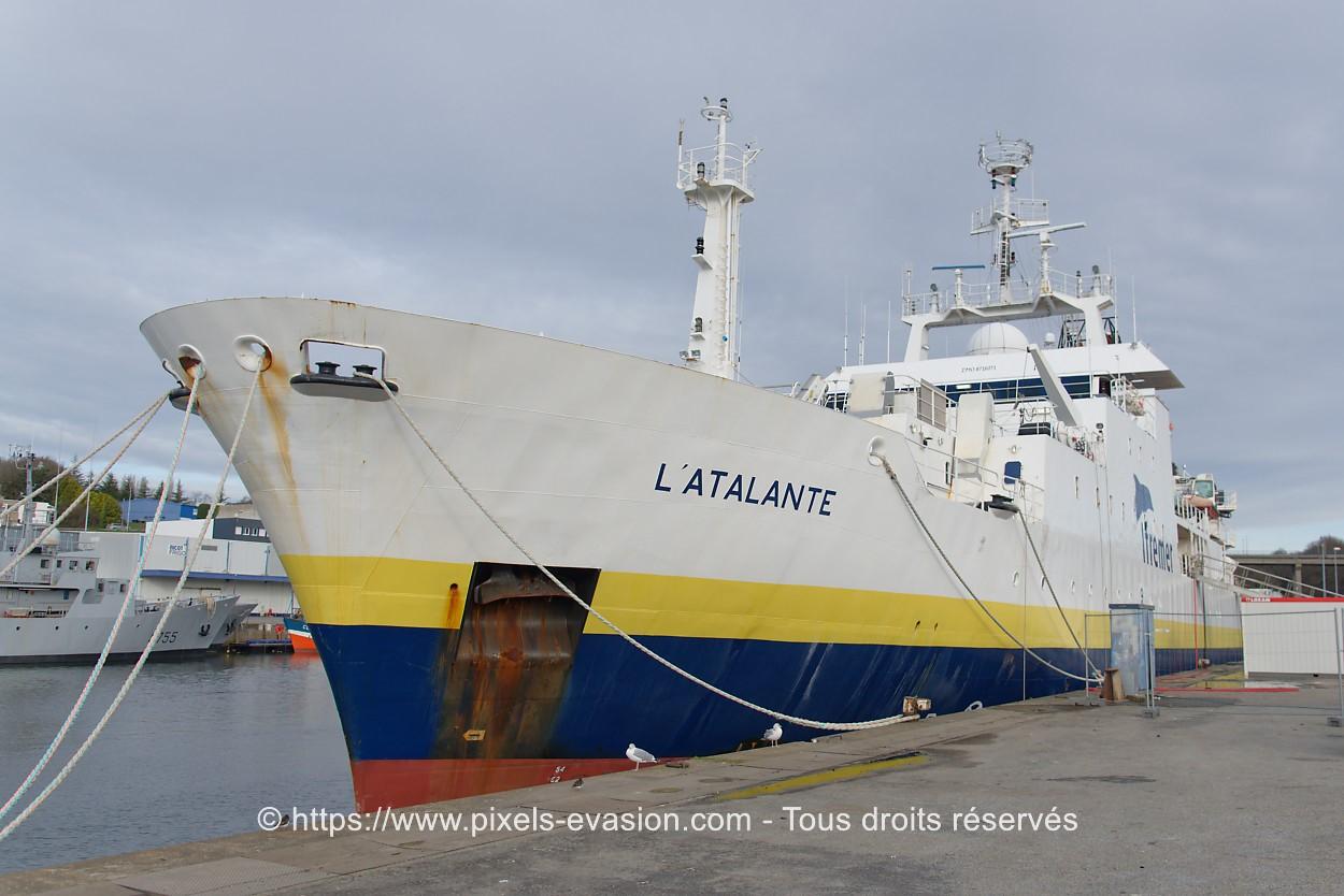 L'Atalante, Ifremer